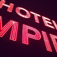 Photo taken at The Empire Hotel Rooftop by Andre R. on 2/17/2013
