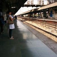 Photo taken at Thane Railway Station by Sam on 5/19/2014