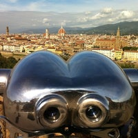 Photo taken at Piazzale Michelangelo by Hgdhk F. on 10/17/2012