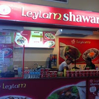 Photo taken at Leylam Shawarma by cj s. on 5/11/2013
