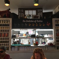 Photo taken at Carla Hall's Southern Chicken by SavorySweetLive M. on 7/24/2016