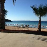 Photo taken at Orion Beach Hotel by Kurtulus O. on 9/6/2013