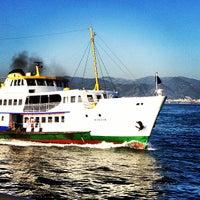 Photo taken at İzmir Körfezi by H. Serkan S. on 7/23/2013