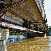 Photo taken at Quezon Bridge by Noël D. on 2/12/2013