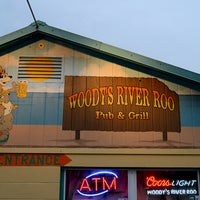 Photo taken at Woody's River Roo Pub & Grill by Woody's River Roo Pub & Grill on 8/1/2013