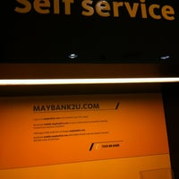 Photo taken at Maybank by Dan L. on 11/7/2012