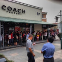 Photo taken at Coach Outlet by Mark H. on 10/4/2013