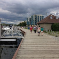 Photo taken at Barrie Waterfront by Richard B. on 8/11/2013