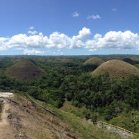 Photo taken at The Chocolate Hills by Marlon H. on 4/11/2015