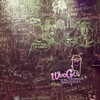 Photo taken at WooGo Juice by rrrr H. on 11/22/2013