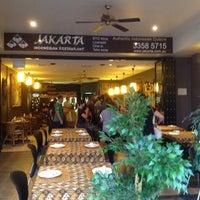 Photo taken at Jakarta Indonesian Restaurant by Sandi P. on 10/3/2015