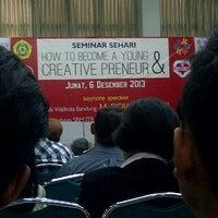 Photo taken at Universitas Katolik Parahyangan (UNPAR) by Nindya P. on 12/6/2013