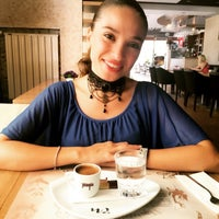 Photo taken at Cafe & Bistro by Banu F. on 7/14/2016