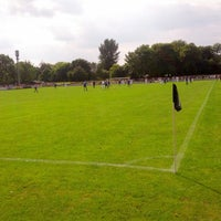 Photo taken at Trafford FC by Michael H. on 8/26/2013