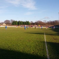 Photo taken at Silverlands (Buxton FC) by Michael H. on 12/29/2013