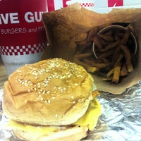 Photo taken at Five Guys by Bobby C. on 1/6/2013
