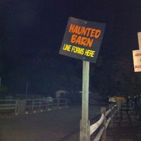 Photo taken at C Casola Farms Haunted Hayride Of Terror by Hilary F. on 10/27/2013