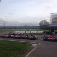 Photo taken at Karting des Fagnes by Linske P. on 11/8/2014