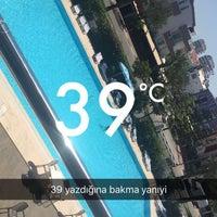Photo taken at Turem Otel Havuzu by Akif K. on 6/24/2016