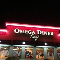 Photo taken at Omega Diner by Daniel B. on 11/25/2012