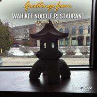 Photo taken at Wah Kee Noodle Restaurant by Cindy G. on 1/12/2013