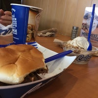 Photo taken at Culver's by Cindy G. on 1/27/2017