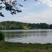 Photo taken at Pláž Hamr na Jezeře by Michal T. on 7/5/2017