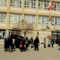 Photo taken at Bahçelievler Anadolu Lisesi by Gülşah K. on 2/25/2017