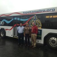 Photo taken at Topeka Metropolitan Transit Authority by Melissa J. on 10/29/2013
