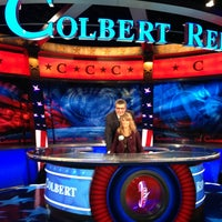 Photo taken at The Colbert Report by marco G. on 3/28/2013