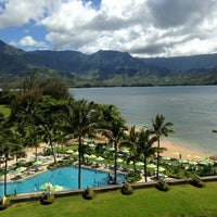Photo taken at The St. Regis Princeville Resort by Emily D. on 7/9/2013