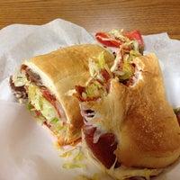 Photo taken at R&M Sandwich Shop by Adam E. on 9/20/2013