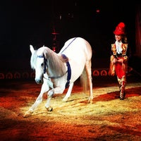Photo taken at Big Apple Circus by Michael M. on 10/21/2012