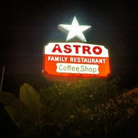 Photo taken at Astro Family Restaurant by Michael M. on 9/19/2012