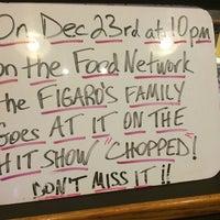 Photo taken at Figaro's by john m. on 12/17/2014
