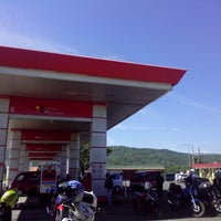 Photo taken at SPBU 44.532.13 Sampang by Rifi E. on 8/12/2013