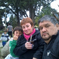 Photo taken at Plaza Pagano by Javier E. on 2/7/2014