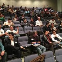 Photo taken at Auditorio Milton Friedman UFM by Rudy G. on 12/5/2012