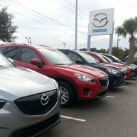 Photo taken at Stevenson Mazda by Patrick B. on 11/2/2013