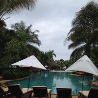 Photo taken at Ravindra Beach Resort & Spa by Ekaluck K. on 9/29/2012
