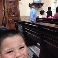 Photo taken at Iglesia Santo Niño De Atocha by Ana M. on 4/20/2015