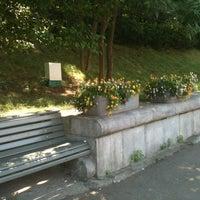 Photo taken at На Лавочке У Парка by Anna on 6/8/2014