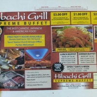 Photo taken at Hibachi Grill Sushi Buffet by Ben M. on 12/14/2012