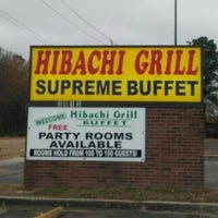 Photo taken at Hibachi Grill Sushi Buffet by Ben M. on 1/15/2014