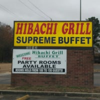Photo taken at Hibachi Grill Sushi Buffet by Ben M. on 12/30/2013