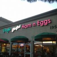 Photo taken at Peg's Glorified Ham n' Eggs by Coach B. on 3/14/2015