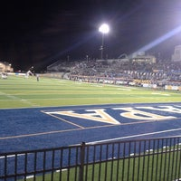 Photo taken at Memorial Stadium by Coach B. on 11/8/2014