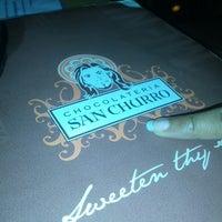 Photo taken at Chocolateria San Churro by Jigar D. on 7/25/2013
