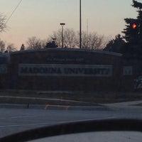 Photo taken at Madonna University by Julian B. on 4/1/2014