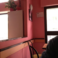 Photo taken at Pink RistoBar by Paola M. on 6/1/2013